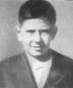 ΧΡΙΣΤΑΚΗΣ ΒΥΖΑΚΟΣ <br> Δολοφονήθηκε από τους Τούρκους στις 10.7.1958